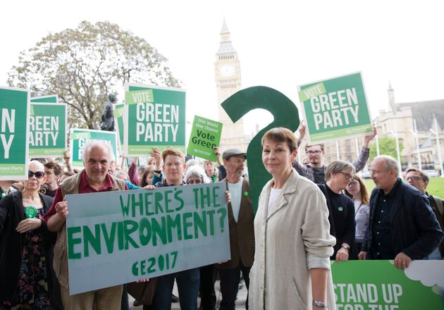 Green Party co-leader Caroline Lucas with