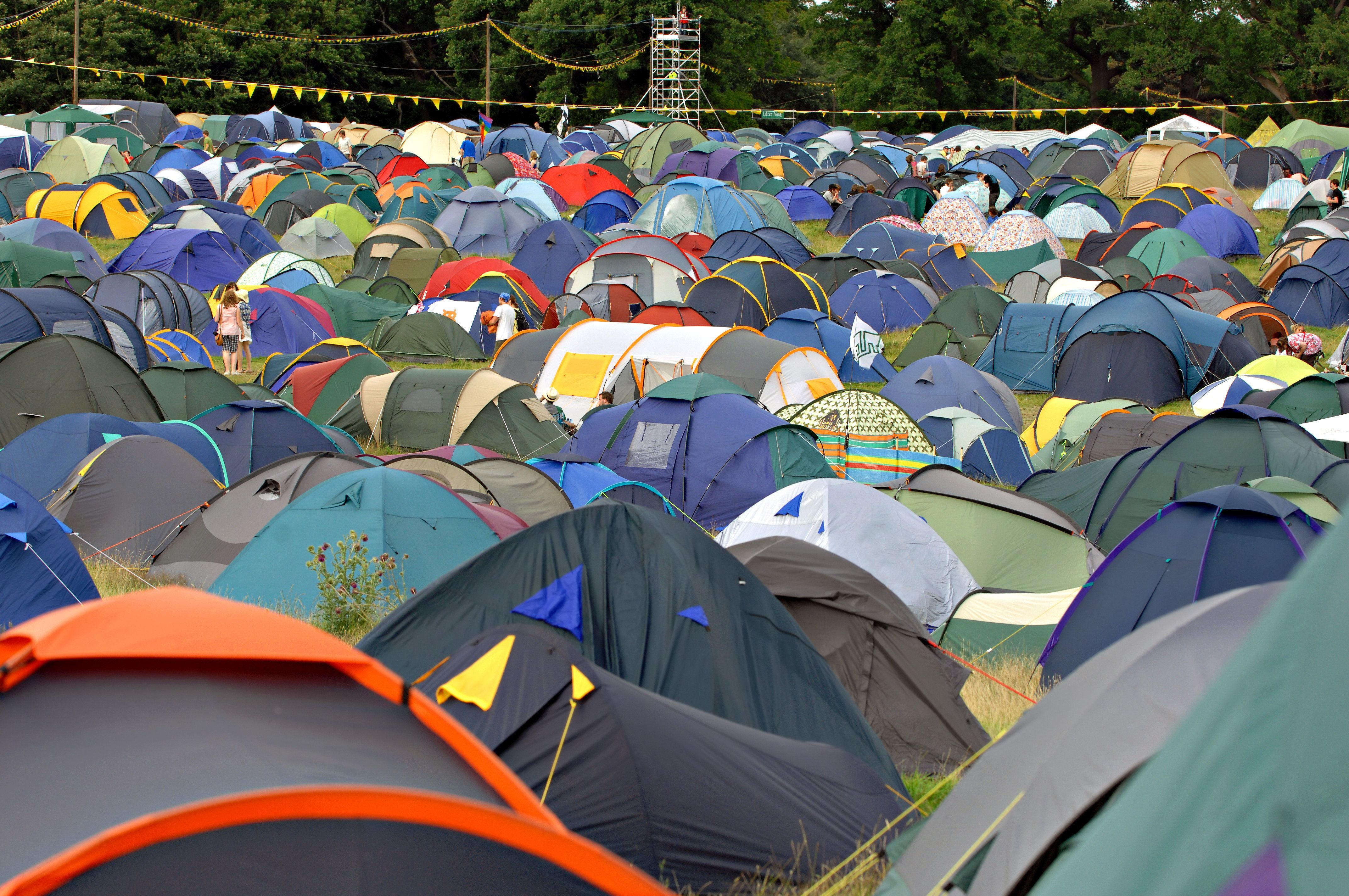 Tent-Finding App Will Save You Hours Of Drunk Wandering This Festival