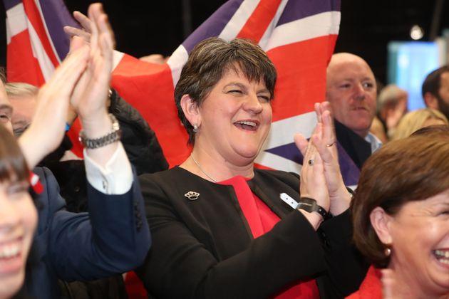 DUP leader Arlene
