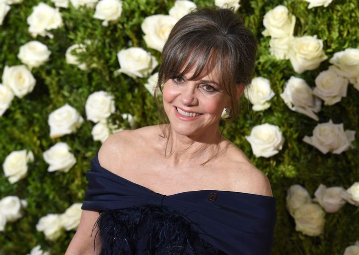 Sally Field arrives at the 2017 Tony Awards on Sunday.