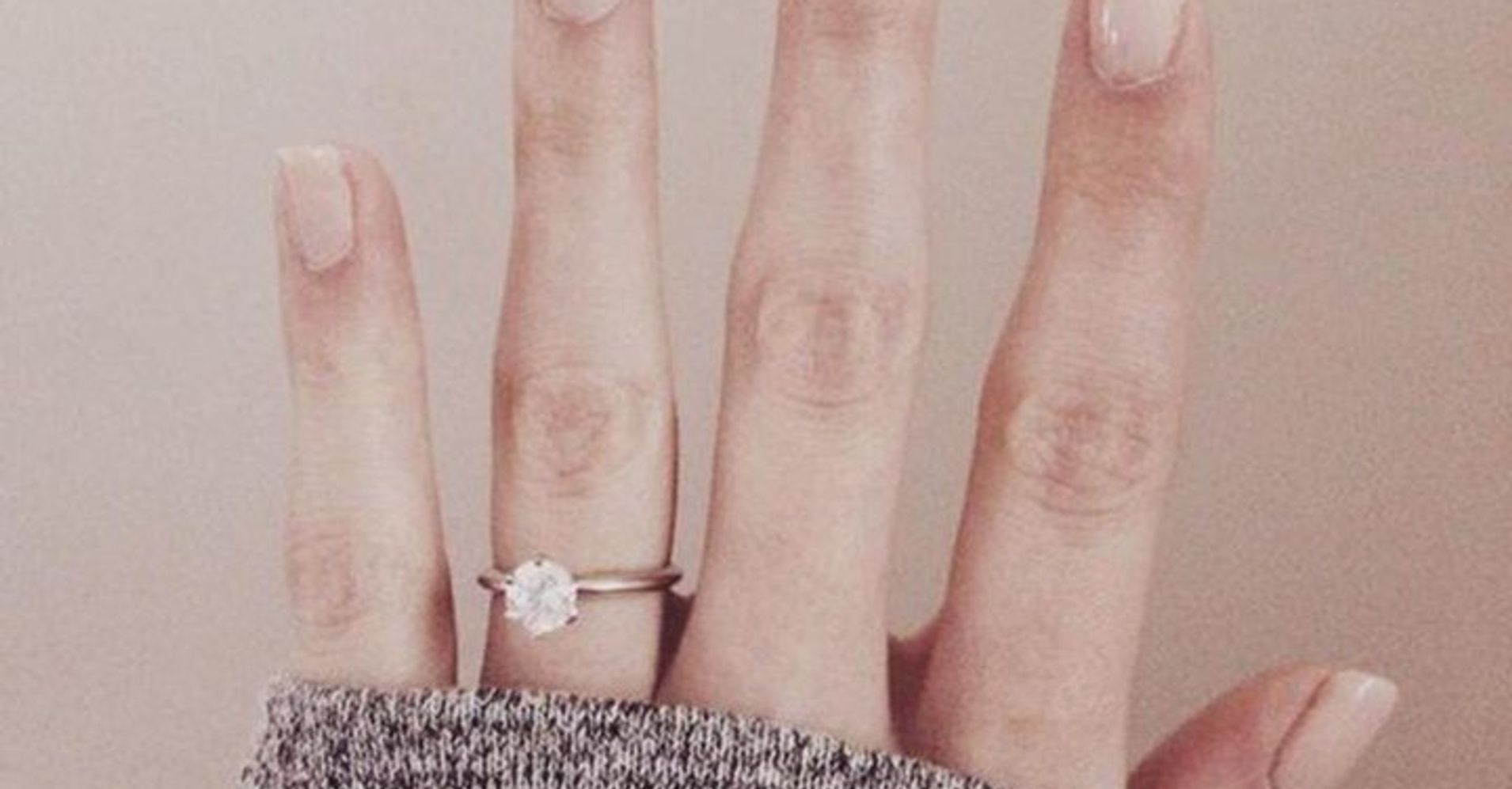 this is the most pinned engagement ring on pinterest us wonder woman wedding ring This Is The Most Pinned Engagement Ring On Pinterest This Year HuffPost