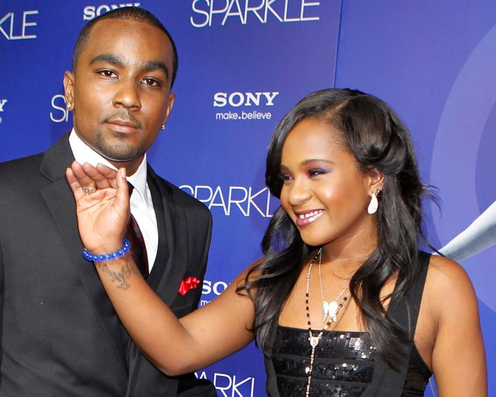 Bobbi Kristina Brown, who was the 22-year-old daughter of Bobby Brown and Whitney Houston, is seen here with Gordon in 2