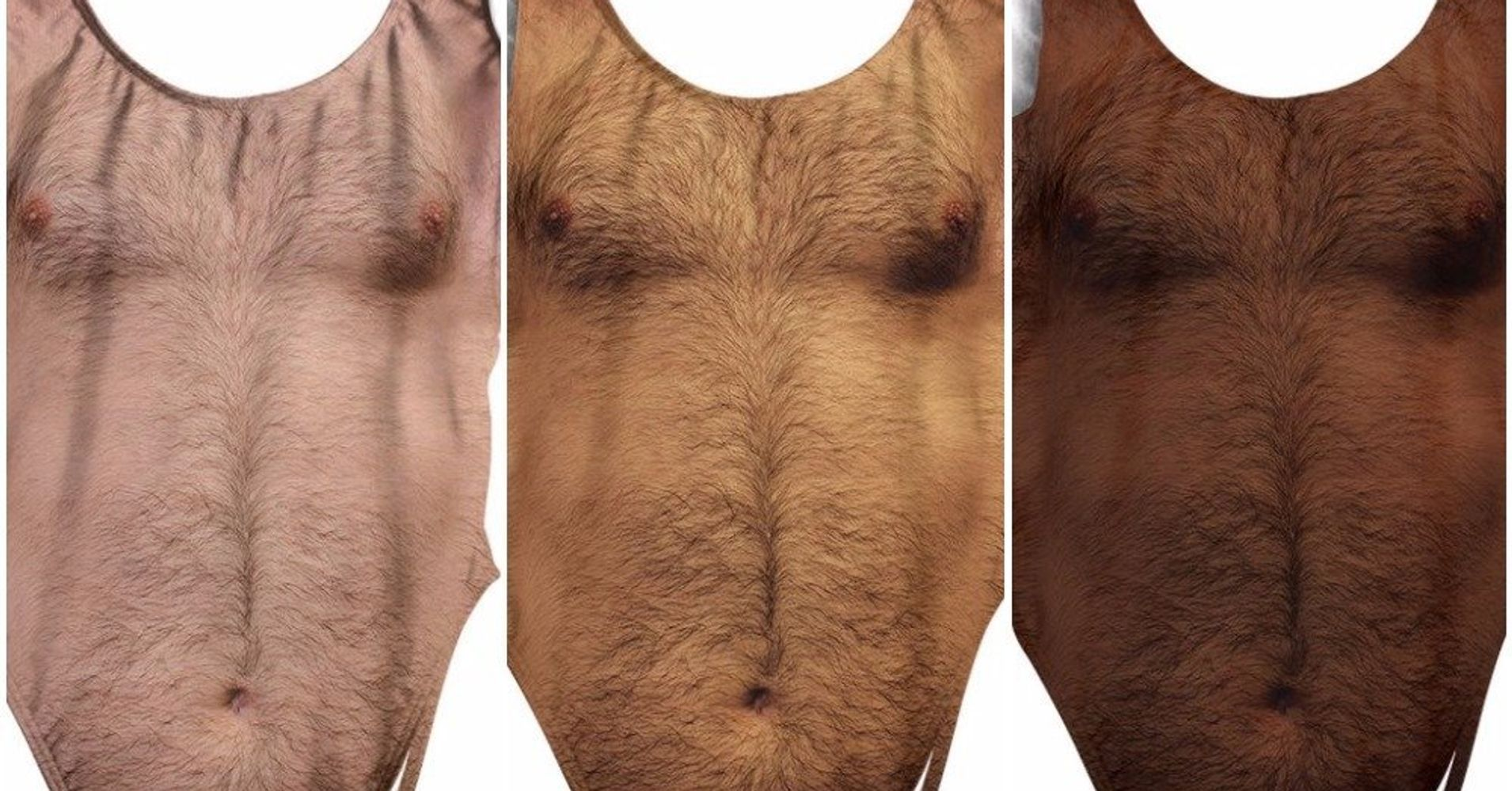 This Bathing Suit Covered In Chest Hair Is Actually Genius Huffpost