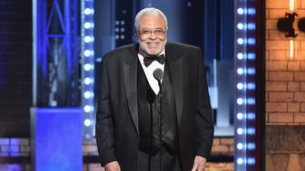 NEW YORK, NY - JUNE 11:  James Earl Jones accepts the Special Tony Award for Lifetime Achievement in the Theatre onstage during the 2017 Tony Awards at Radio City Music Hall on June 11, 2017 in New York City.  (Photo by Theo Wargo/Getty Images for Tony Awards Productions)