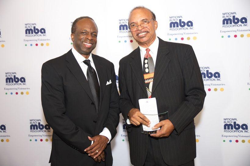 Bruce E. Thompson and colleague