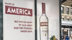 Smirnoff Vodka Hilariously Trolls Trump With New Bus Stop
