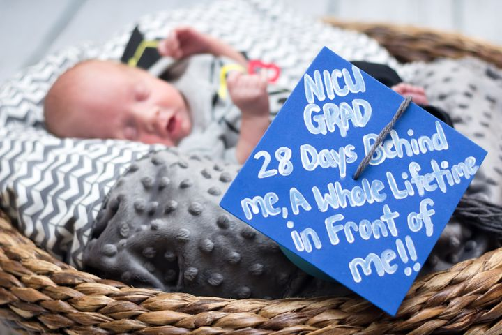 The NICU graduation tradition has been a hit with parents.