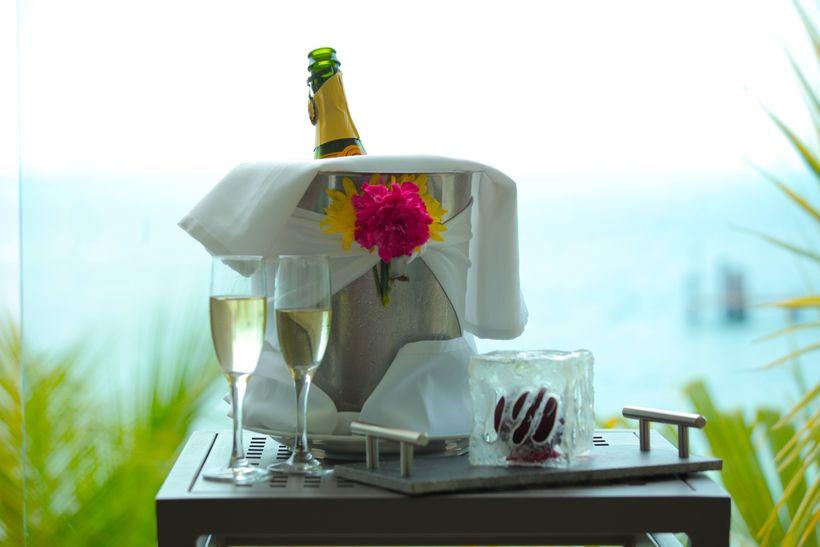 Balcony at Isla Mujeres Palace Resorts