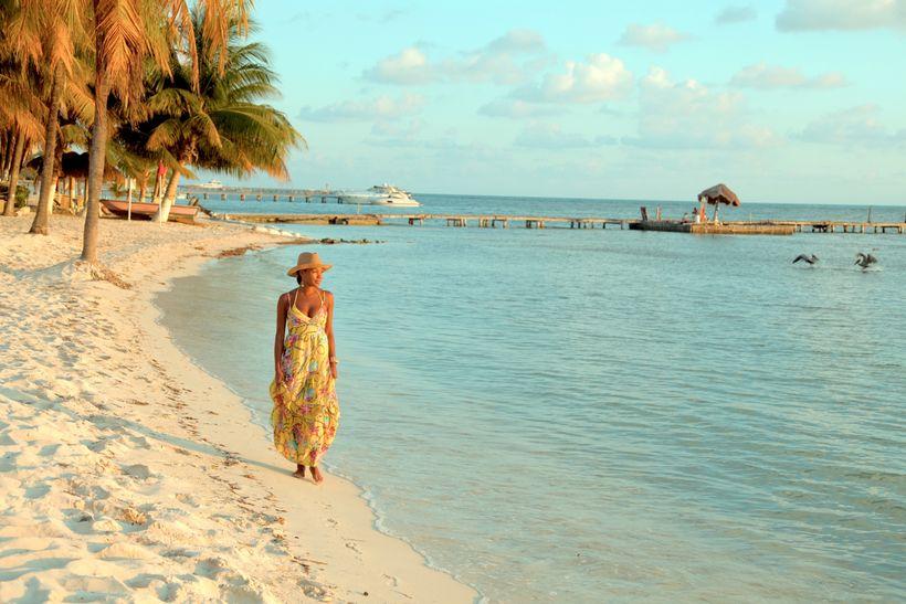 Beach at Isla Mujeres Palace Resort