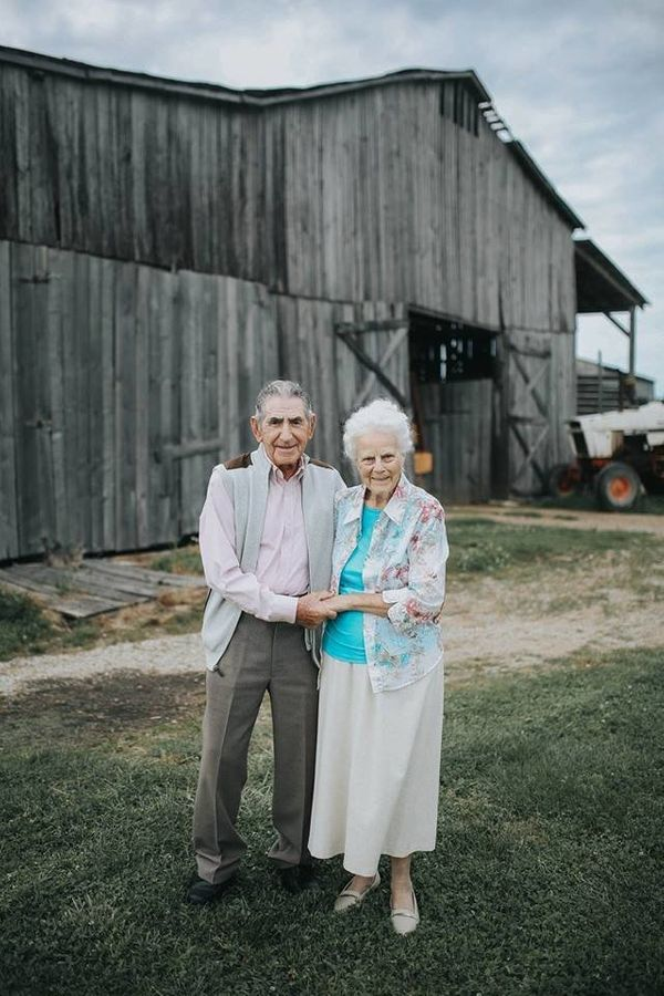this couple married for almost 70 years look like a pair