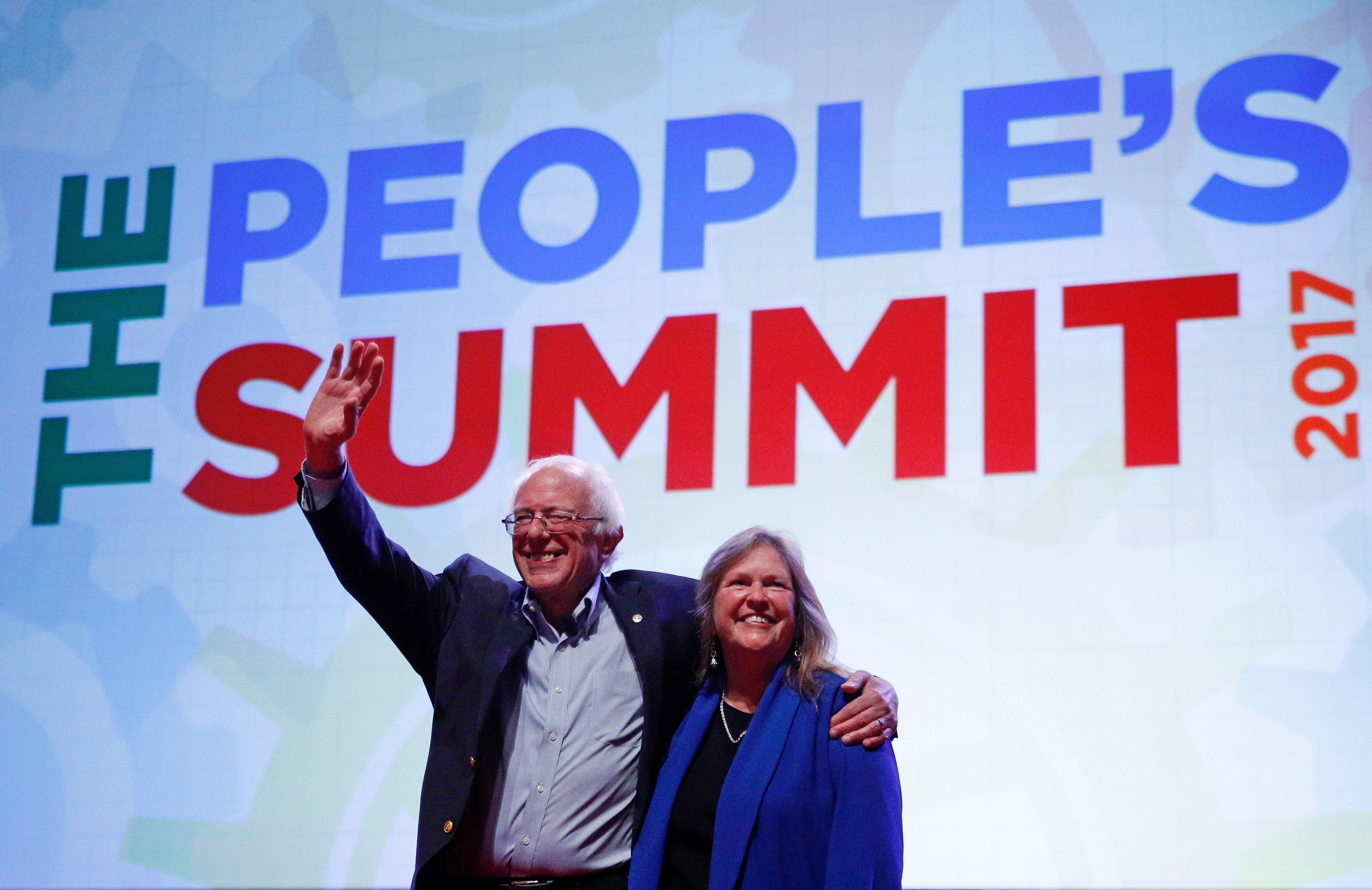 Movement Backing Bernie Sanders Plots Democratic Party