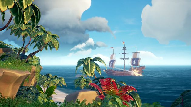 Sea of Thieves, an exclusive for both the Xbox One S and Xbox One