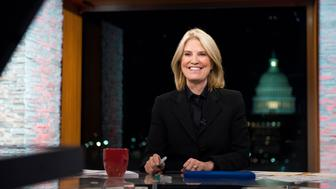 FOR THE RECORD WITH GRETA -- Pictured: (l-r) Greta van Susteren appears on the premiere episode of 'For the Record with Greta' in Washington, D.C., Monday, January 9, 2017.  (Photo by: William B. Plowman/MSNBC/NBC NewsWire via Getty Images)