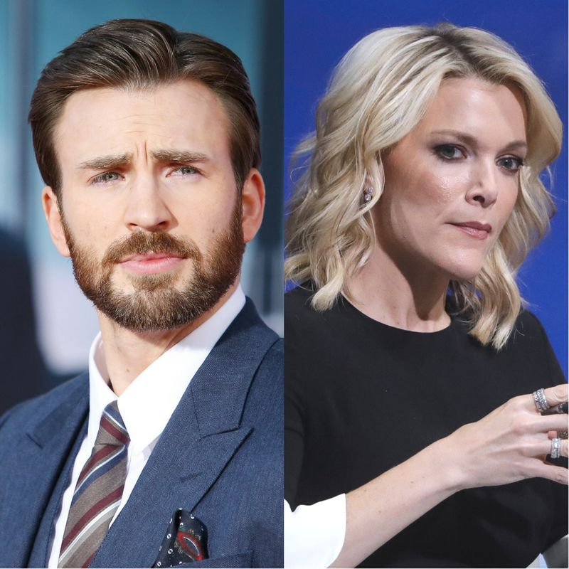 Chris Evans Denounces NBC For Megyn Kelly's Alex Jones