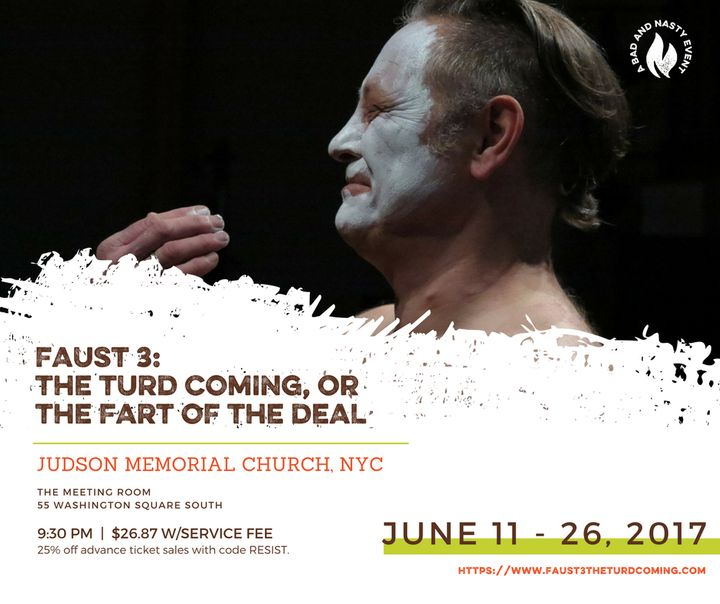 """<p>""""Faust 3"""" at Judson Memorial Church in NYC</p>"""