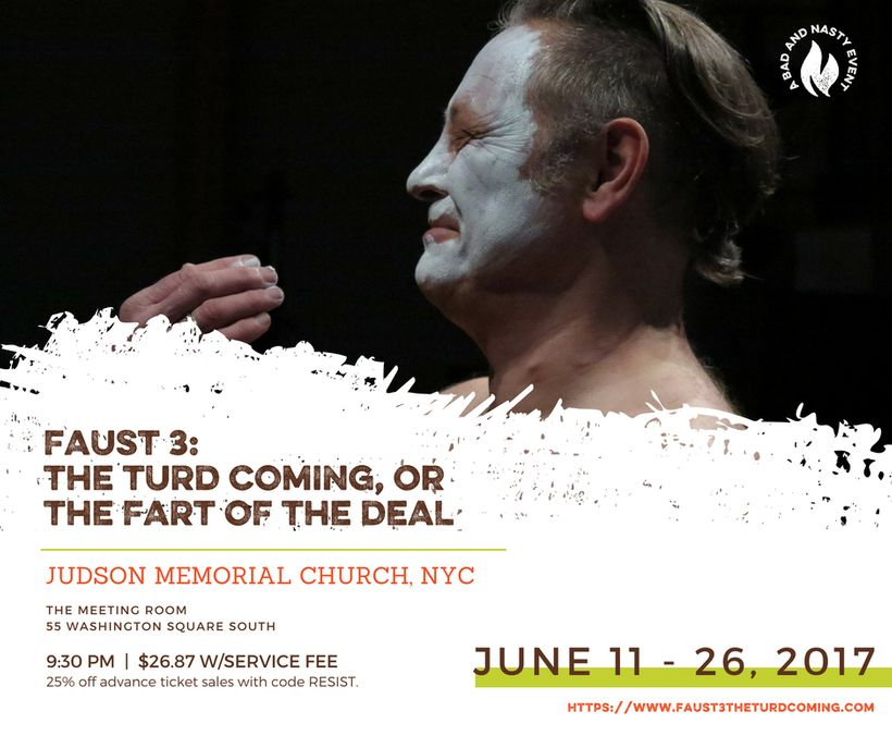 """Faust 3"" at Judson Memorial Church in NYC"