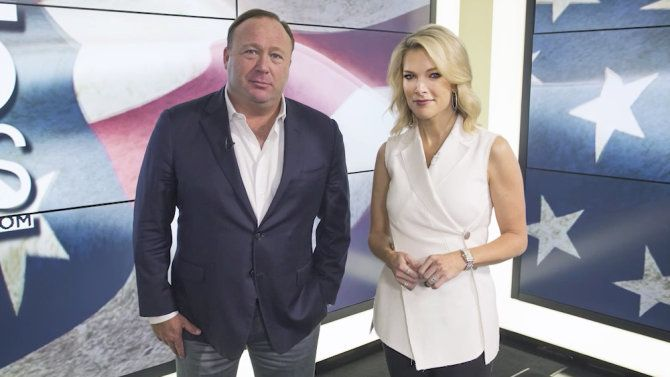 Alex Jones  Megyn Kelly