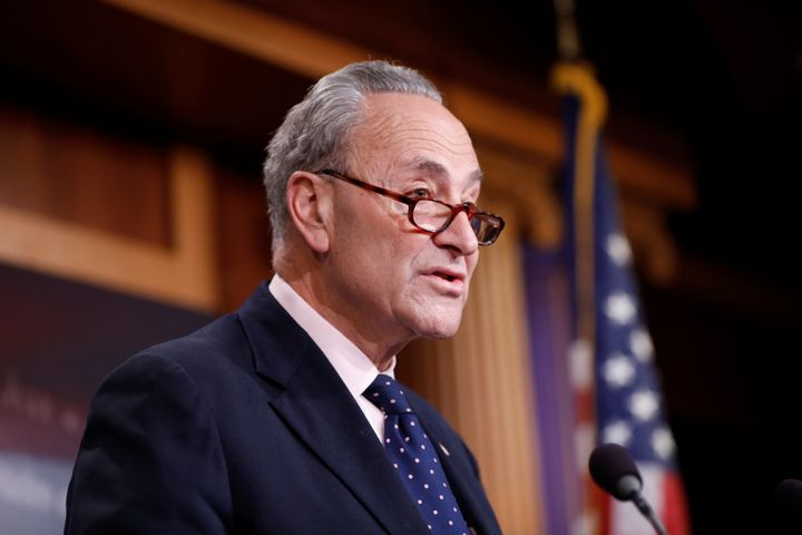 Senate Minority Leader Chuck Schumer said the new sanctions will send a warning to any country even thinking about hacking fu