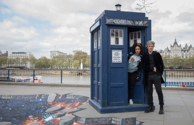 Peter Capaldi's days in the TARDIS are
