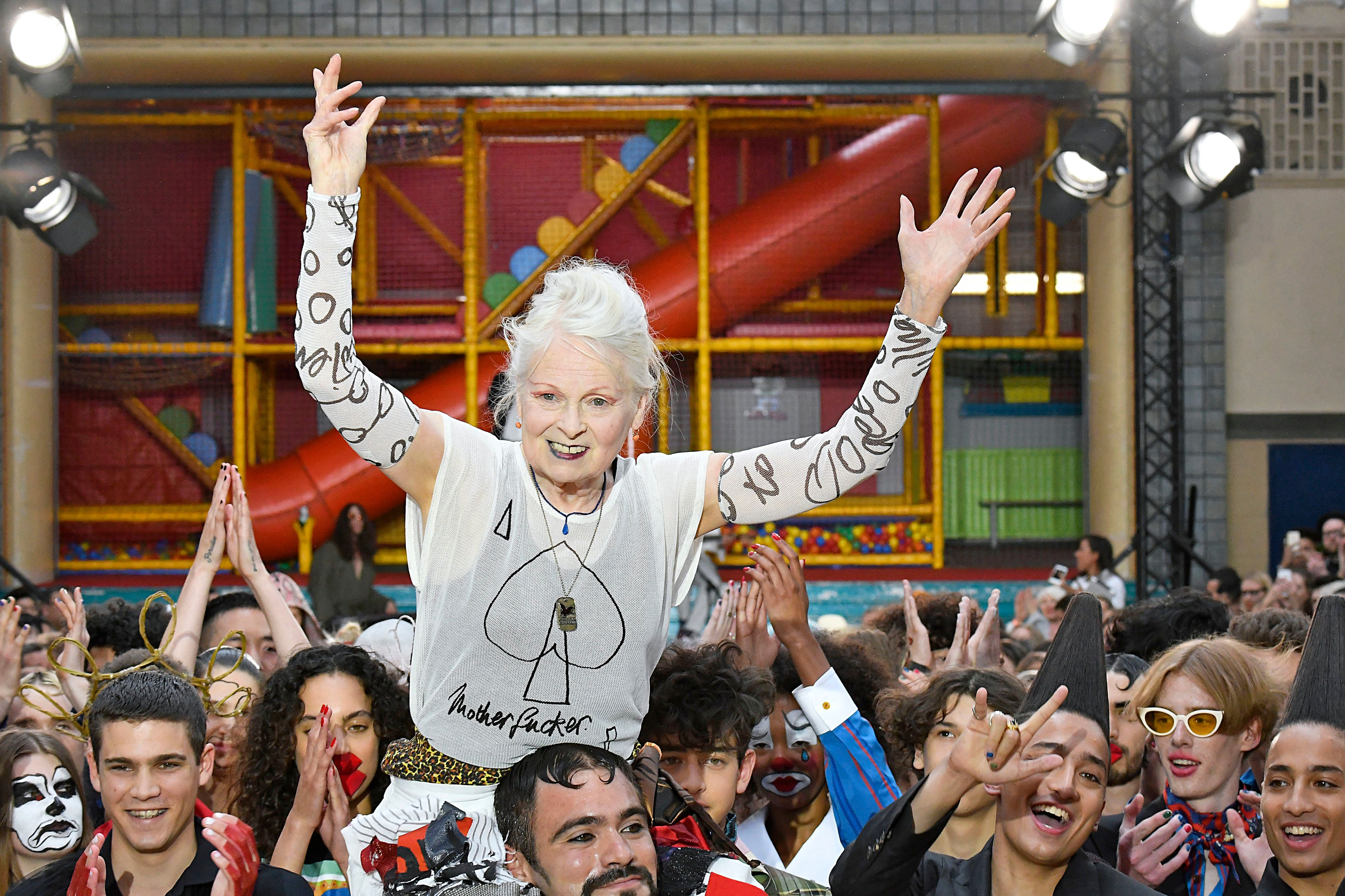 6 Moments We Can't Stop Talking About From Vivienne Westwood's Rebellious