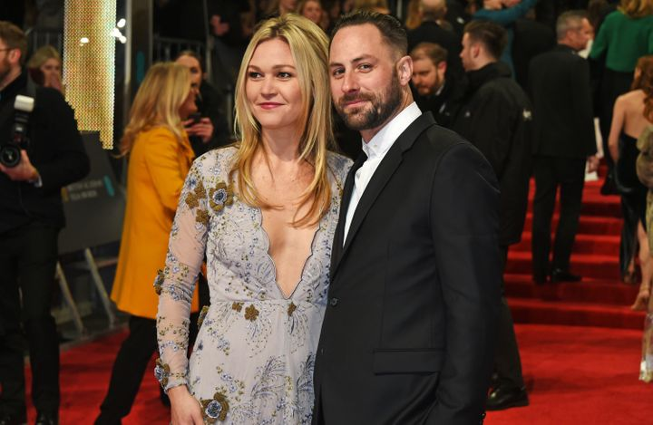 Julia Stiles and Preson J. Cook at theBritish Academy Film Awards.