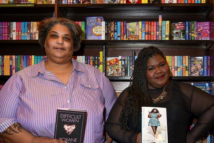 Authors Roxanne Gay andGabourey Sidibe.