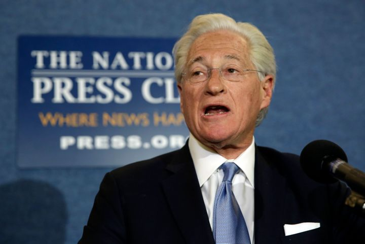 Trump's personal attorney, Marc Kasowitz, speaks to the news media after the congressional testimony of former FBI Director J