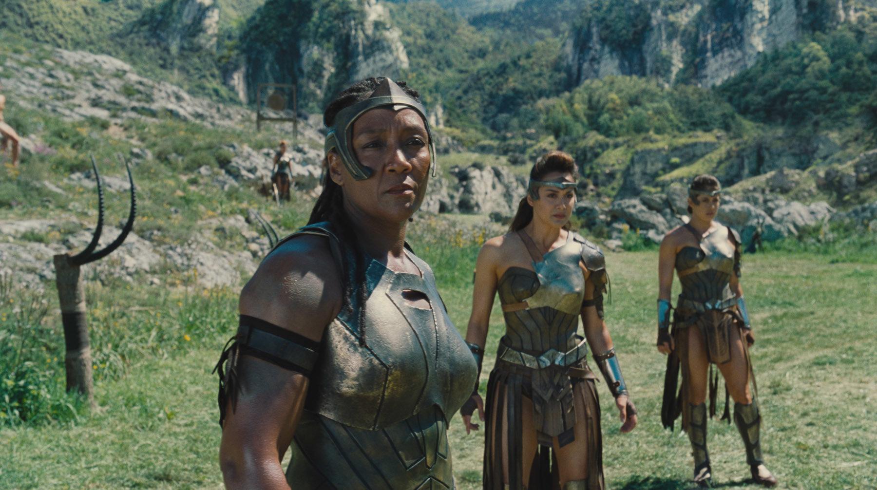 "Ann Wolfe as Artemis in ""Wonder Woman."""
