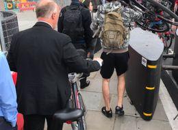 Anti-Terror Barriers Turn London's Blackfriars Bridge Into An 'Absolute Shambles' For Cyclists