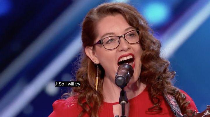 "<a rel=""nofollow"" href=""http://www.nbc.com/americas-got-talent/video/mandy-harvey/3529883"" target=""_blank"">NBC.com</a>"