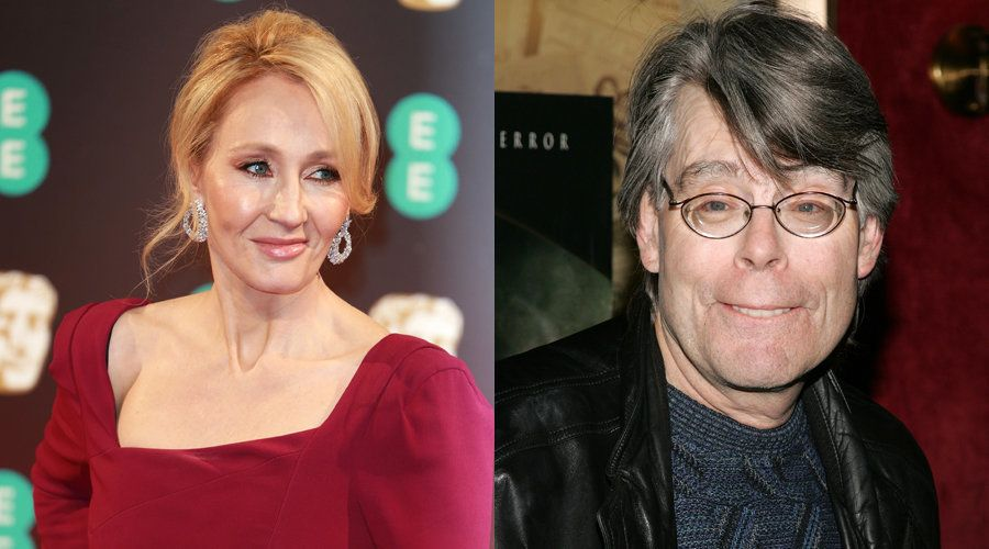 Trump Blocked Stephen King On Twitter, So J.K. Rowling Stepped