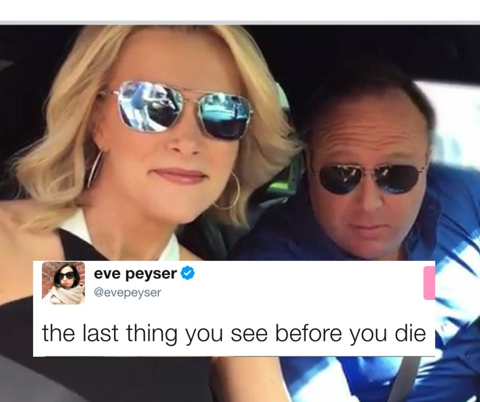 Controversial Megyn Kelly And Alex Jones Selfie Sparks