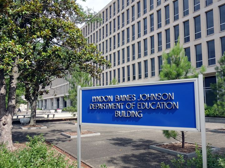 U.S. Department of Education Headquarters, Washington, DC.