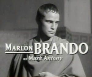 Marlon Brando in film trailer