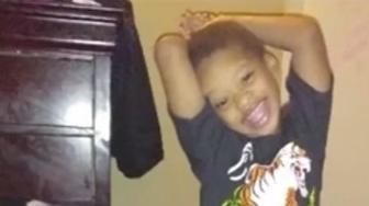 Christopher Gardner Jr died alone Monday inside a hot van police said