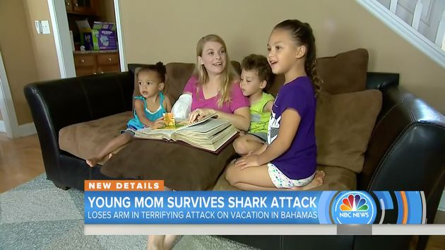 Shark Attack Victim Said She Refused To Die After Losing Her