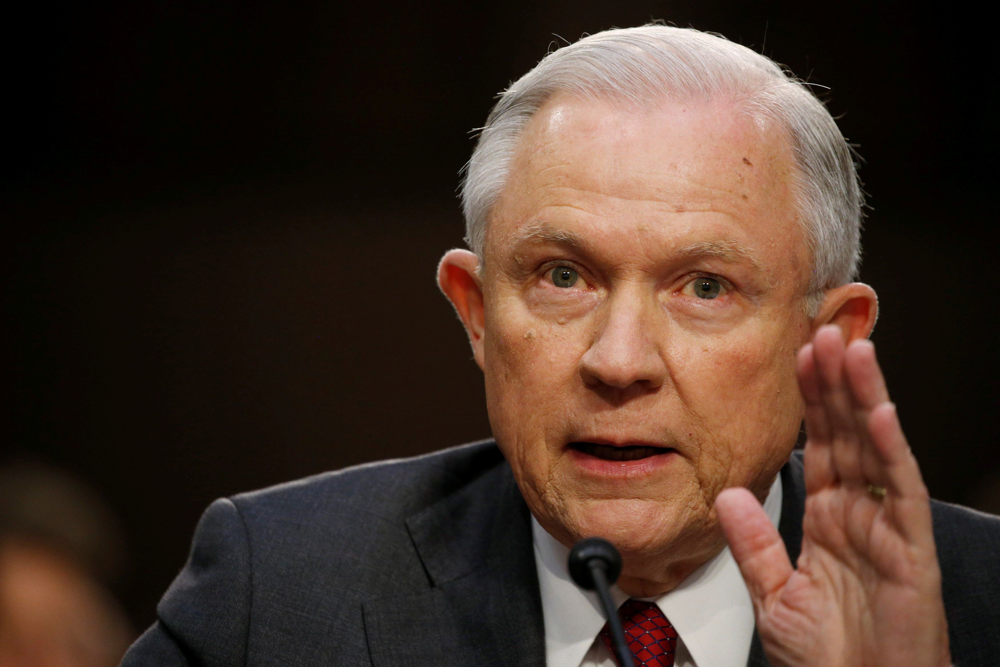 Jeff Sessions Refuses To Answer Senate Questions In Investigation Into Russia