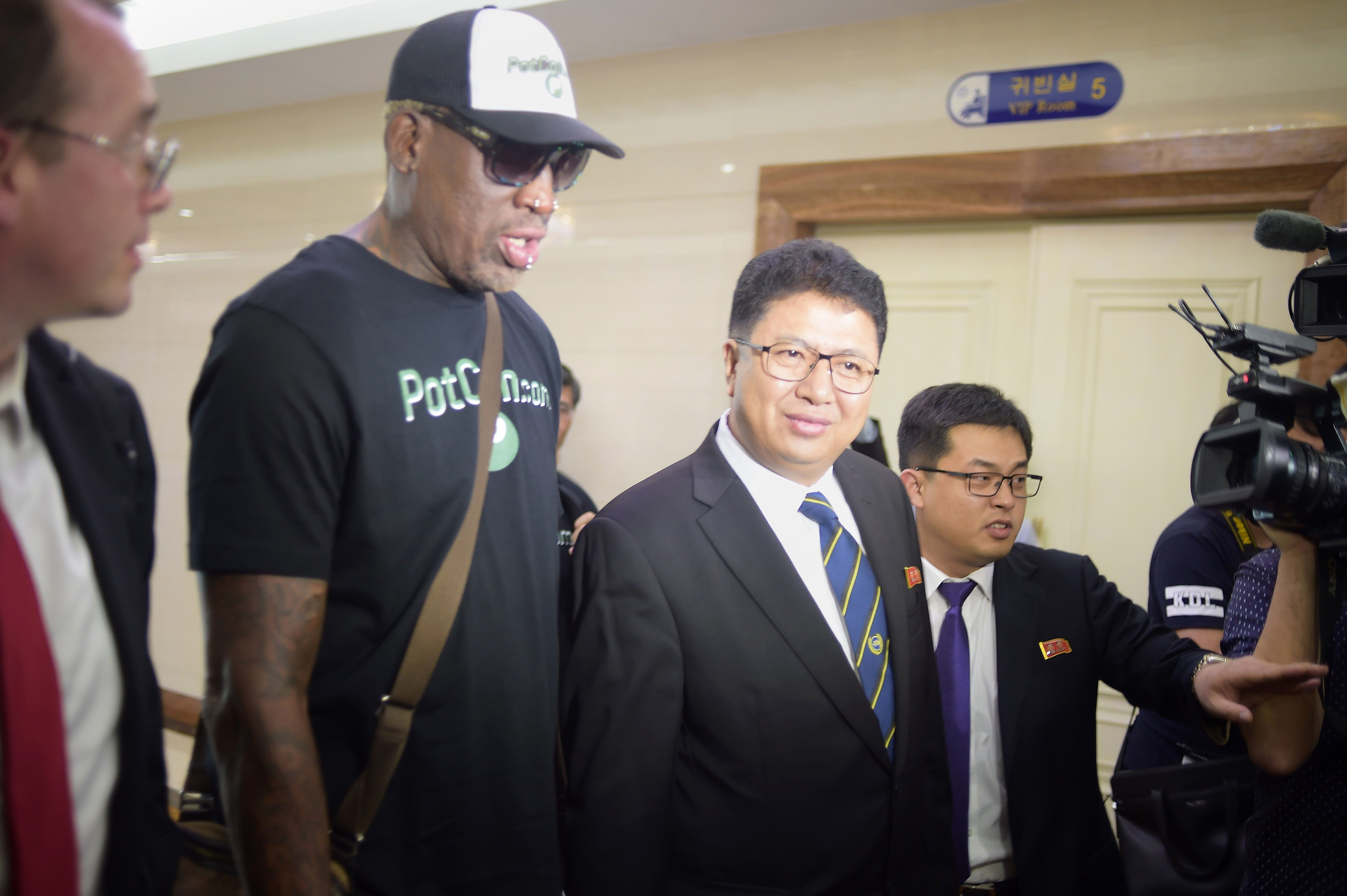 Dennis Rodman Won't Explain North Korea Trip, But Weed Currency Paid For