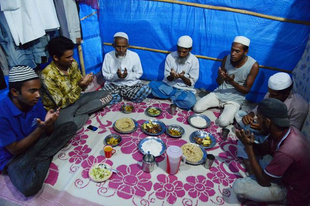 Many refugees still observe the Ramadan fast even in camps and shelters. But Jaffer noted that they aren't...