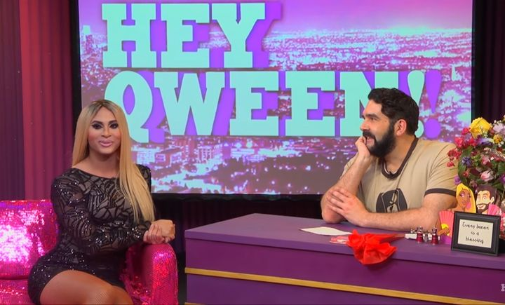 Naysha Lopez and Jonny McGovern on Hey Qween