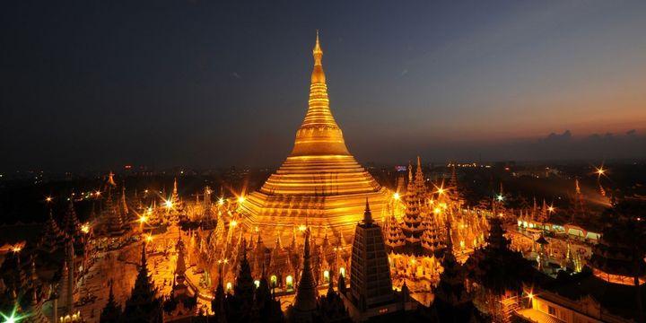 Ngôi chùa vàng Shwedagon, Myanmar. Ảnh Shwedagonpagada.com