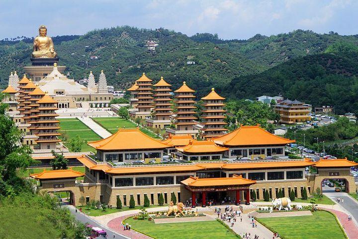 Chùa Phật Quang Sơn, Đài Loan. Ảnh wikipedia.org