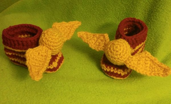 "$16, <a href=""https://www.etsy.com/listing/286719039/golden-snitch-baby-booties"" target=""_blank"">GeeksInTheCastle</a>"