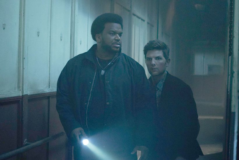 Ghosted, a new show designed by Gary Kordan, premieres on Fox this fall and stars Craig Robinson and Adam Scott