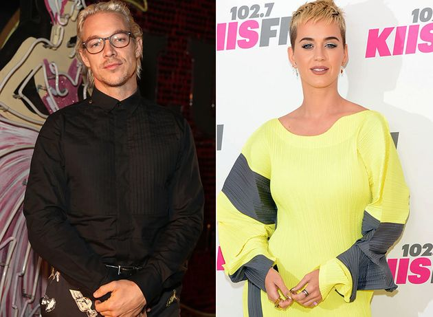 Diplo And Katy Perry >> Katy Perry S Ex Diplo Finds A Positive Spin After Singer S