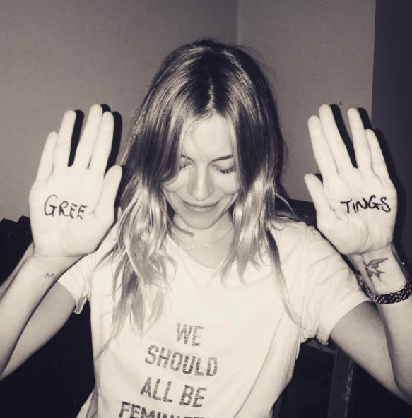 Sienna Miller Joins Instagram, And Suddenly 2017 Is Looking