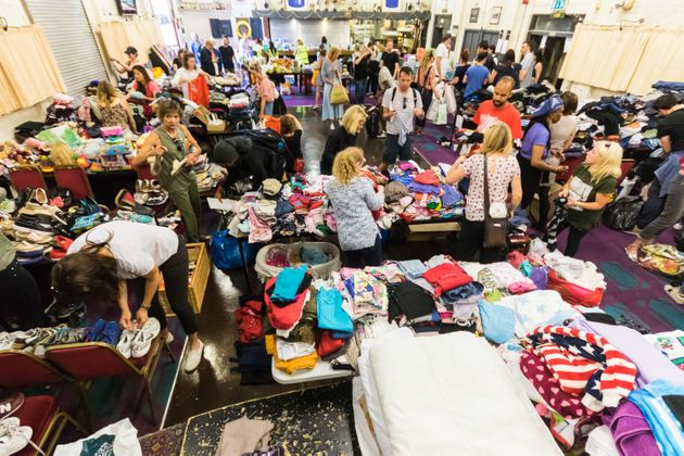 Londoners' generosity on show following the Grenfell Tower