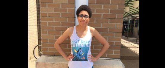 Hannah Pewee was recently kicked out of a Grand Rapids mall because ofher outfit.