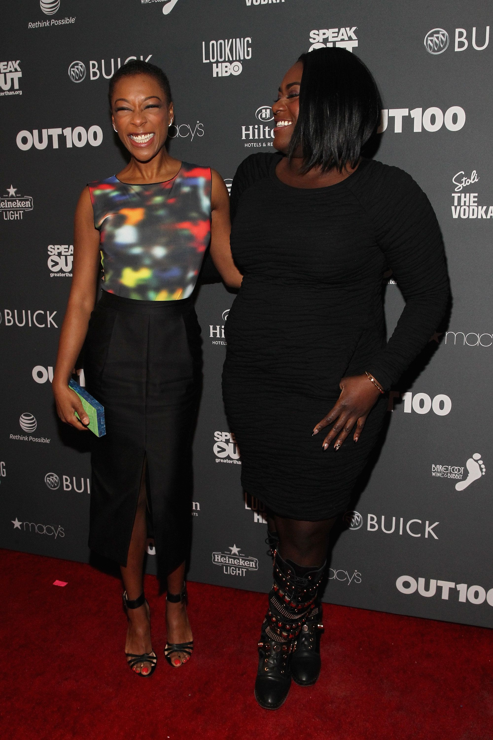 NEW YORK, NY - NOVEMBER 20:  Samira Wiley and Danielle Brooks attend Out100 2014 presented by Buick on November 20, 2014 in New York City.  (Photo by Astrid Stawiarz/Getty Images for OUT100)