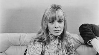 Italian-born actress and model Anita Pallenberg, UK, 31st January 1971. (Photo by Blackman/Daily Express/Getty Images)